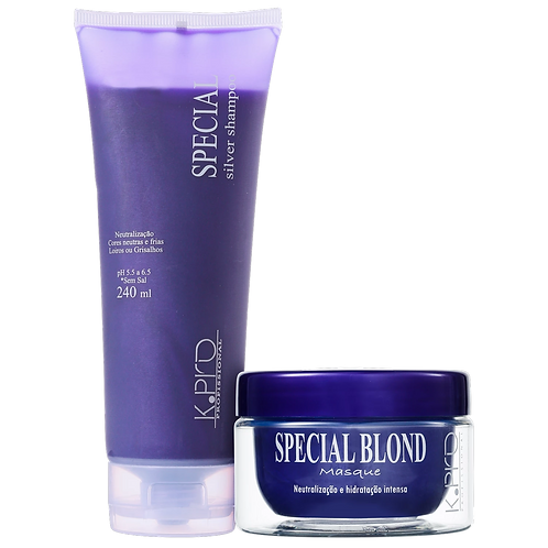Kit Special Silver K-PRO Profissional DUO