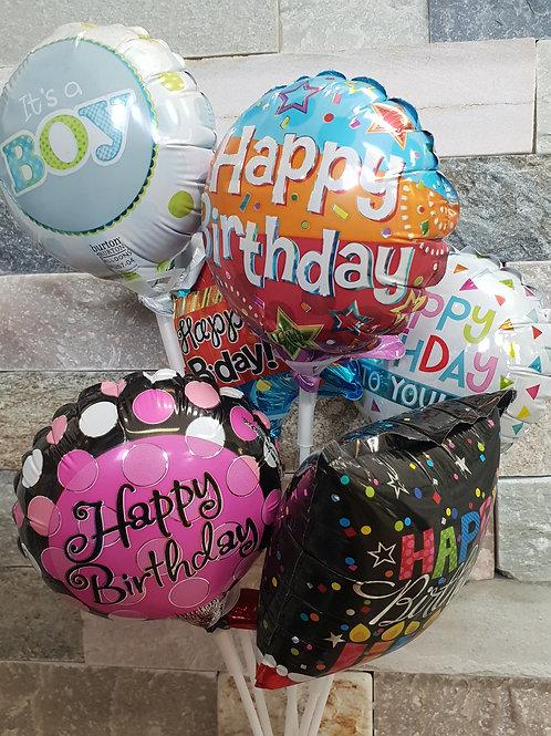 Mini foil stick balloon