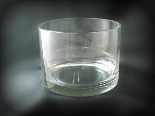 Short Glass Cylinder Vase Ao004 A Classy Touch Florist Batemans