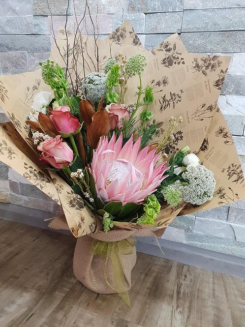 Blushing Environment eco bouquet BQ040