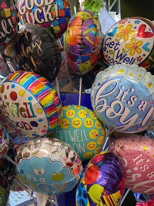 Foil stick balloon