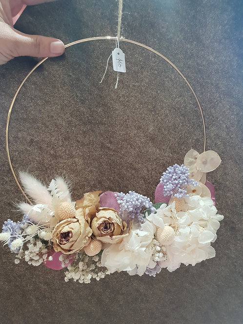 Decorative hanging ring