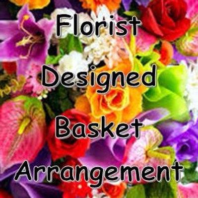 Florist Designed Basket Arrangement