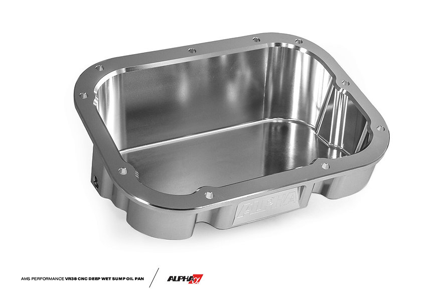 Alpha Performance Nissan R35 GT-R VR38 CNC Deep Wet Sump Oil Pan