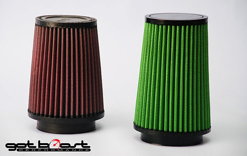 High Flow Green Filters for 3-inch Intake Systems