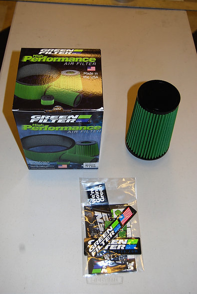 Green Filters for 2.75-inch Intake Systems