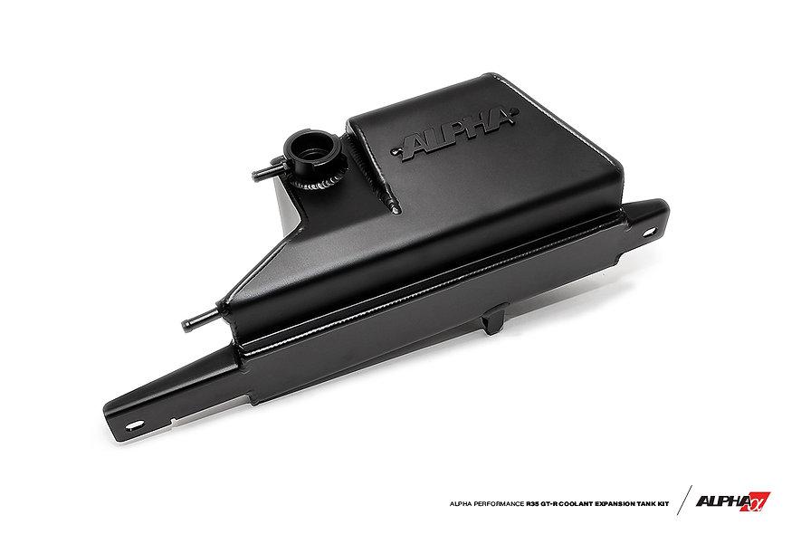Alpha Performance R35 GT-R Coolant Expansion Tank Kit