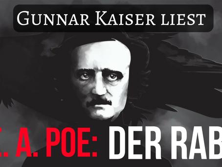 """Heute um 20:30 Uhr: Gunnar Kaiser liest """"Der Rabe"""" von Edgar Allan Poe"""