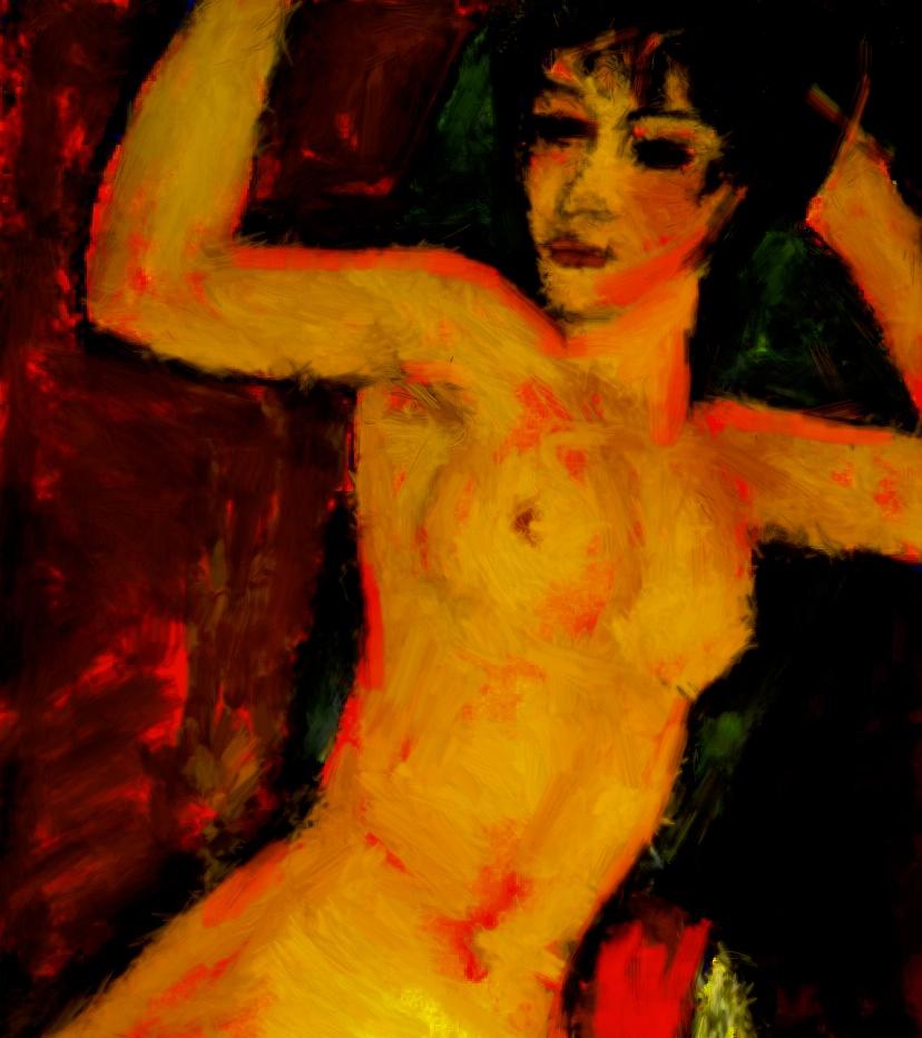 nude (nach Modigliani)