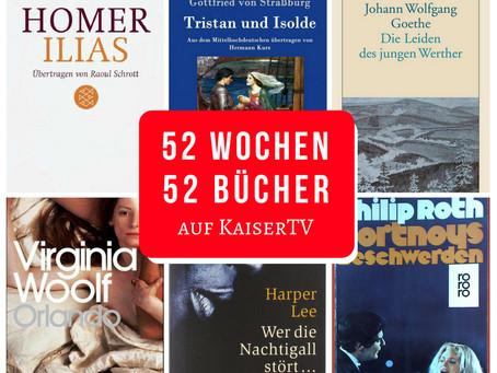 52 Wochen – 52 Bücher