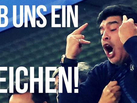 Özil, Maradona und der Stinkefinger (VIDEO)