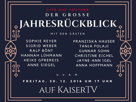 Der große Jahresrückblick auf KaiserTV – Teil 1