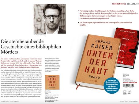 """Lesung aus """"Unter der Haut"""" in Heinsberg am 17. 5. 2018"""