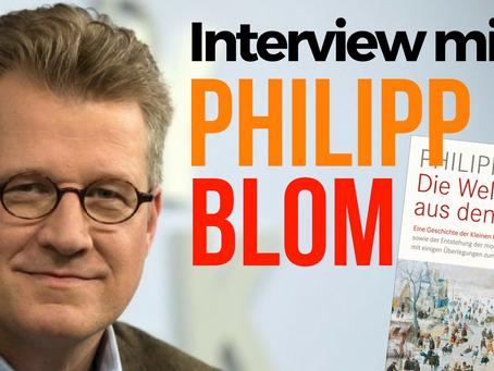 Die Welt aus den Angeln – Philipp Blom im Gespräch
