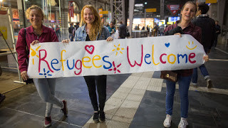 Über Flüchtlinge sprechen – Warme Welt, kalte Welt