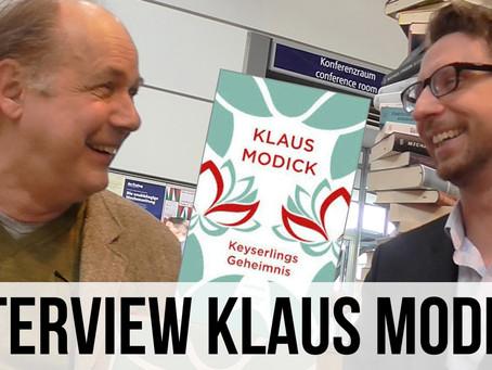 Keyserlings Geheimnis – Klaus Modick im Gespräch auf der Leipziger Buchmesse