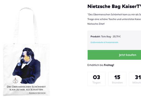 Jute statt Plastik – jetzt auch mit Nietzsche