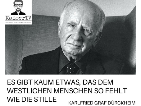 Was dem Menschen fehlt – Karlfried Graf Dürckheim