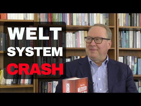 Weltsystemcrash – Max Otte im Gespräch