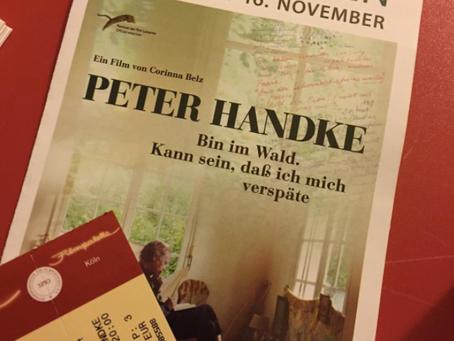 Im Kino mit Peter Handke