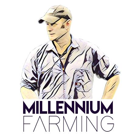 Millennium Farming logo