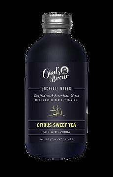 Owl's Brew Citrus Sweet Tea Cocktail Mix