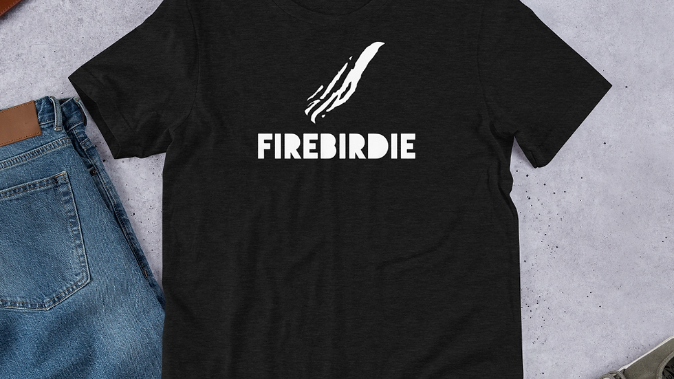 Firebirdie Iconic Dark Short-Sleeve Unisex T-Shirt