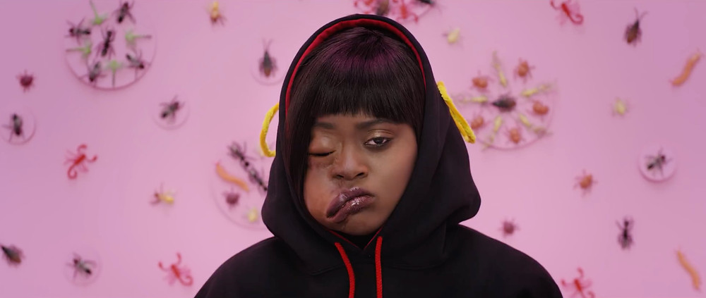 Tierra Whack with a messed up face