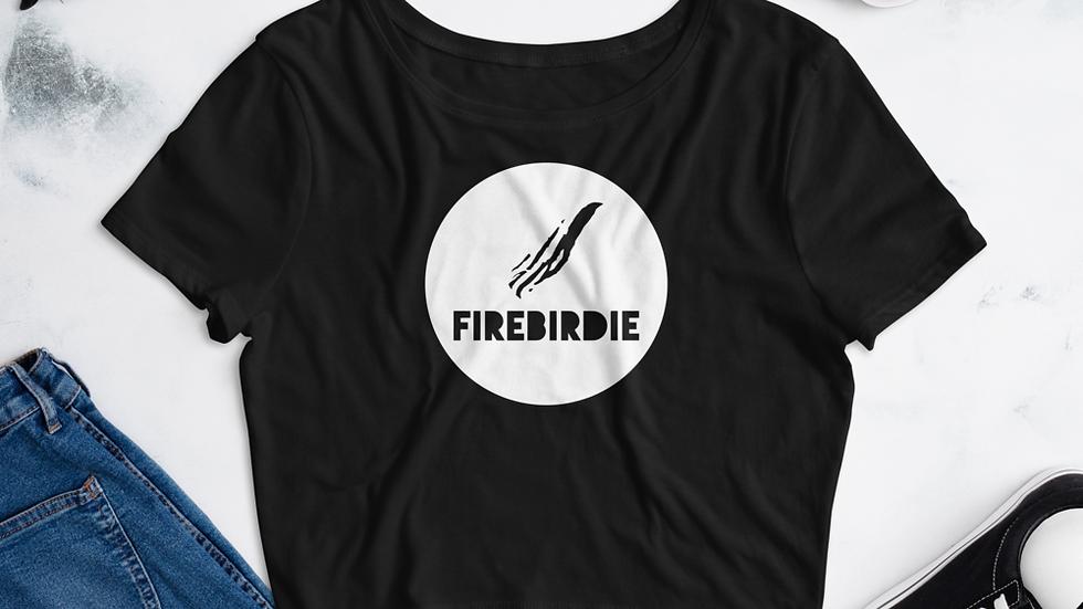 Firebirdie Iconic Badge Women's Crop Tee