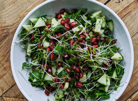 Crunchy Summer Pomegranate Salad