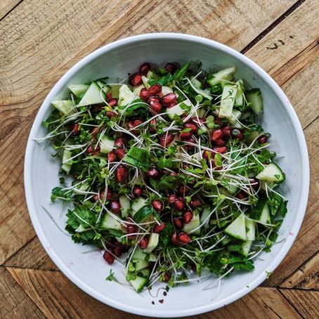 Crunchy Summer Pomegranate Salad