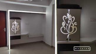 Aristocracy  apartment Pooja Unit