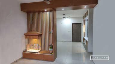 Sobha Dream Acres Apartment Pooja Room