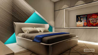 Modern Touch Bedroom