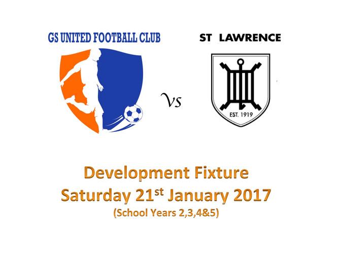 Squads vs St Lawrence Minis