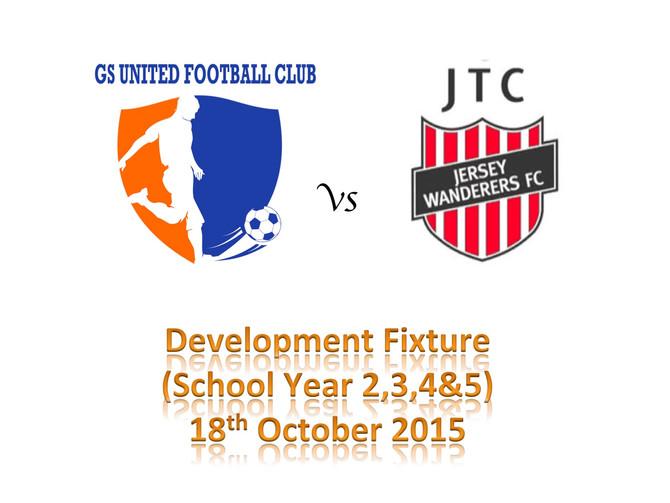 Development Fixture - JTC Jersey Wanderers