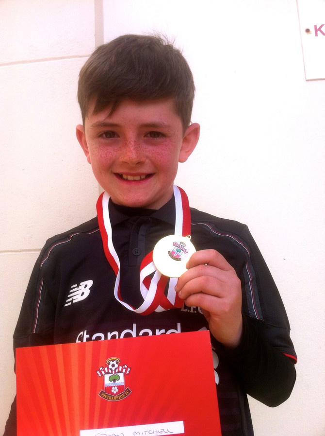 Saints Foundation Year 5 Penalty King!