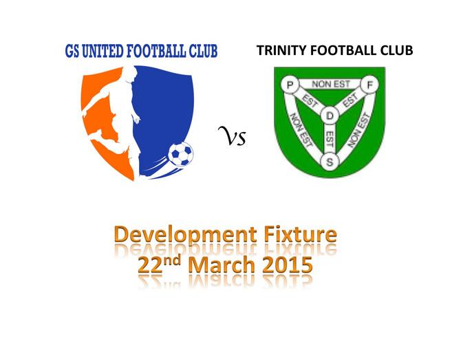 Development Fixture - Trinity FC Mini's 22nd March 2015