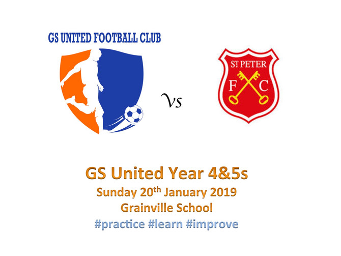 First fixture in 2019 for Years 4&5