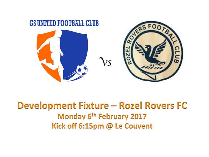 Vs Rozel Rovers FC