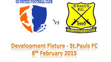 GS United debut development fixture vs St.Pauls FC