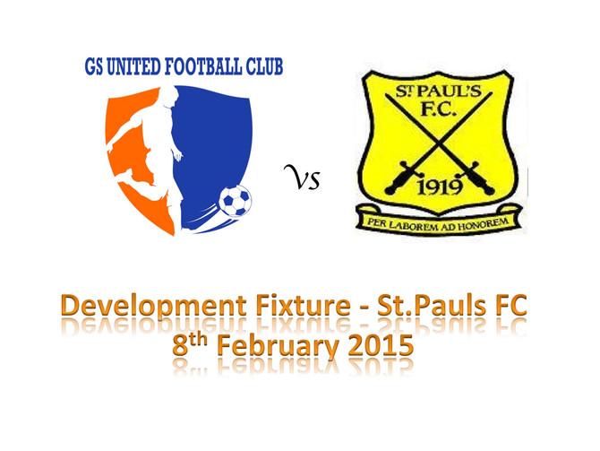 GS United debut development fixture vs St.Pauls FC