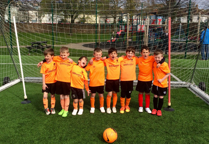 Year 2s kick on at JFA Round Robin Event