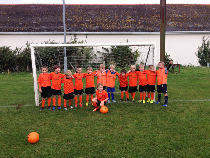 GS United Minis play Rozel Rovers FC