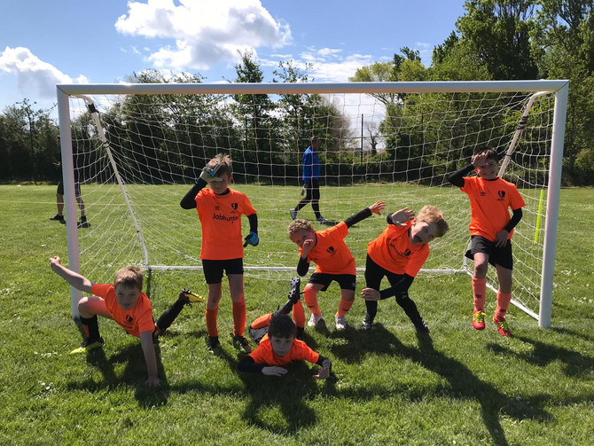 GS United have footie fun at St.Clements Minis Festival 2019