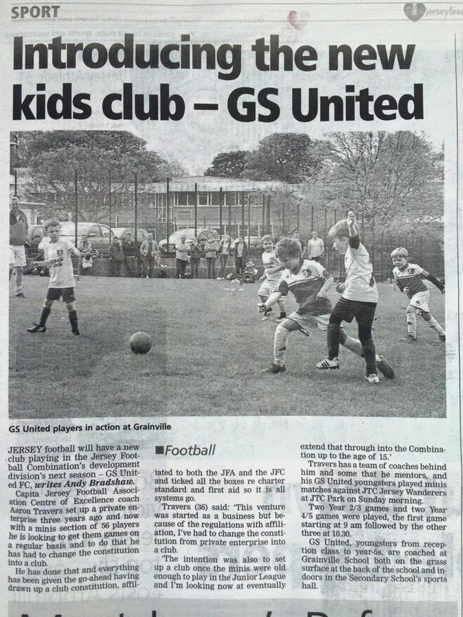 Introducing the new Kids Club - GS United