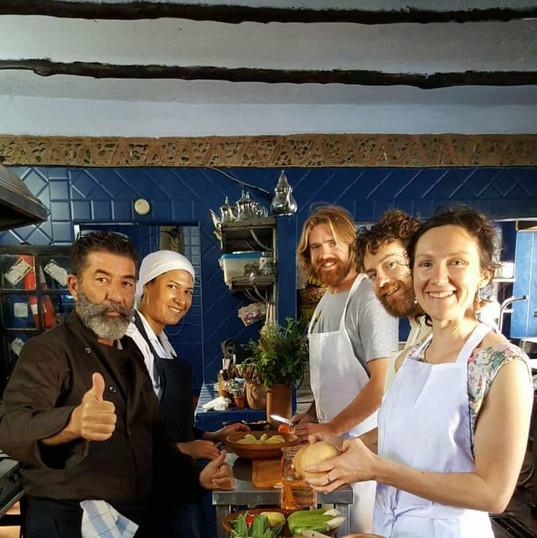 Atelier cuisine* disponible selon la saisonalité