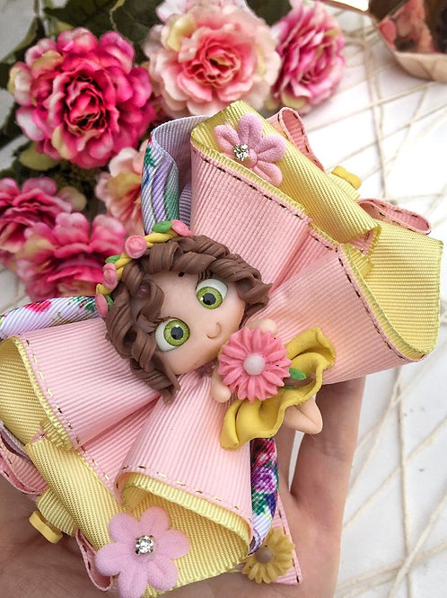 Laço boneca primavera