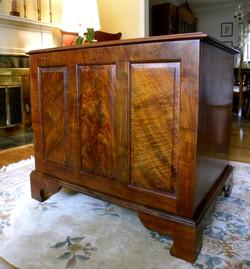 Back of Walnut Dresser