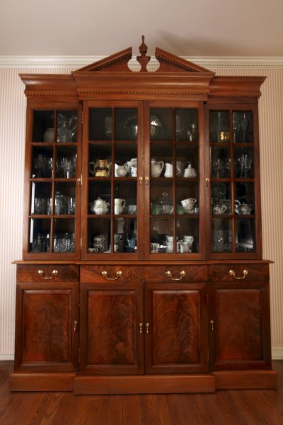 China Cabinet in Black Walnut